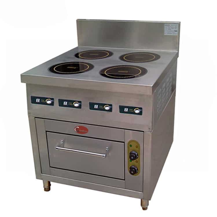 commercial induction hob and oven