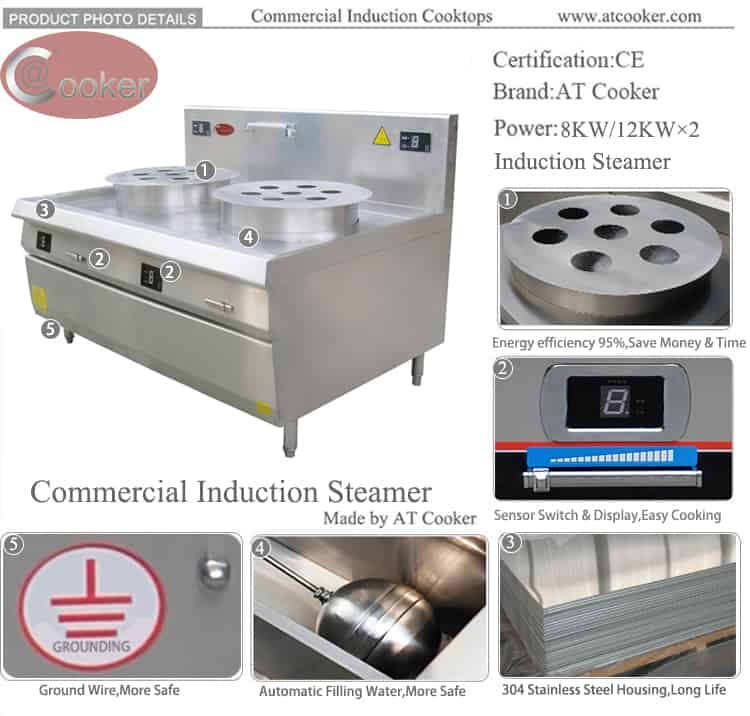 commercial bao steamer commercial chinese steamer
