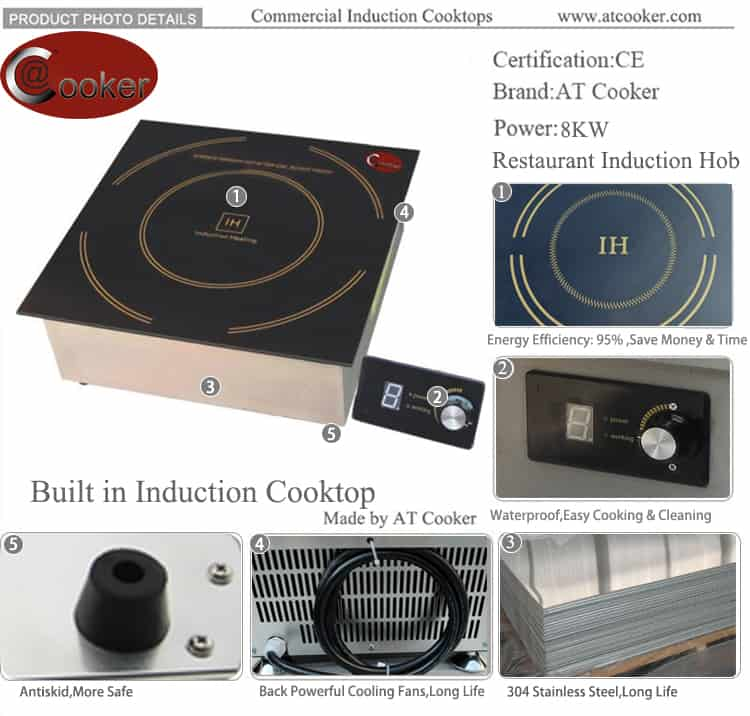 commercial induction hob built in commercial induction stove price