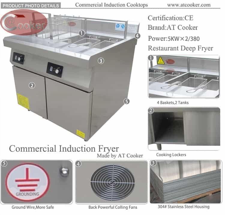 fryolators huge deep fryer
