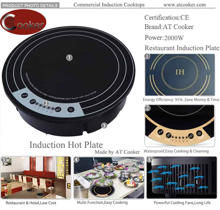 portable induction hot plate magnetic induction hot plate