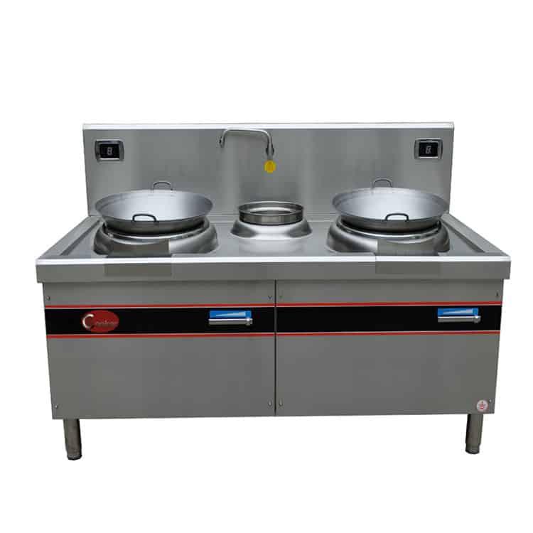 double wok burner commercial kitchen wok burner