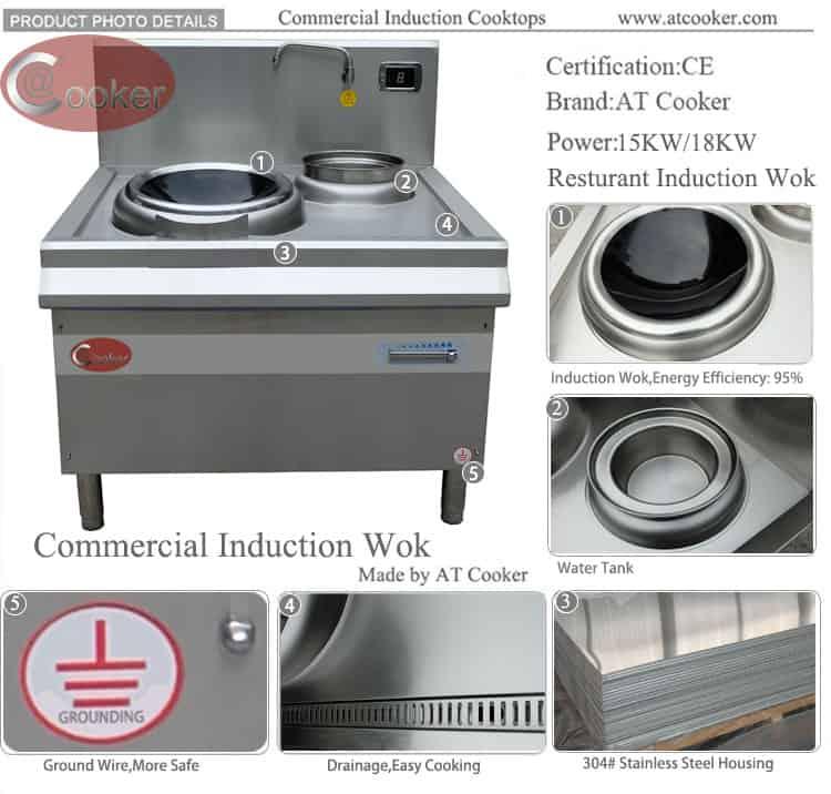 commercial wok burner for sale wok cooking equipment