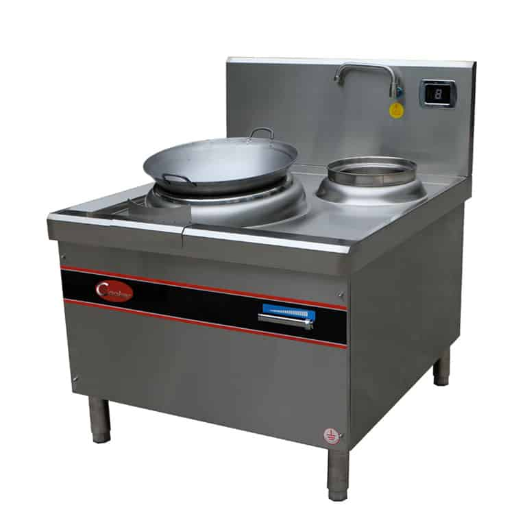 single wok burner wok stove commercial
