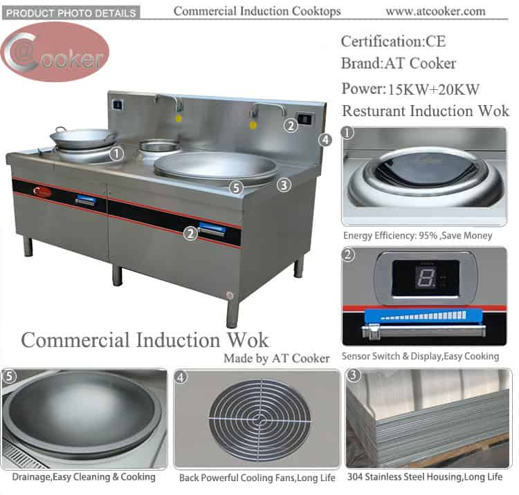 chinese wok stove commercial chinese wok equipment