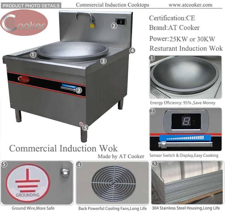 induction wok range range wok burner