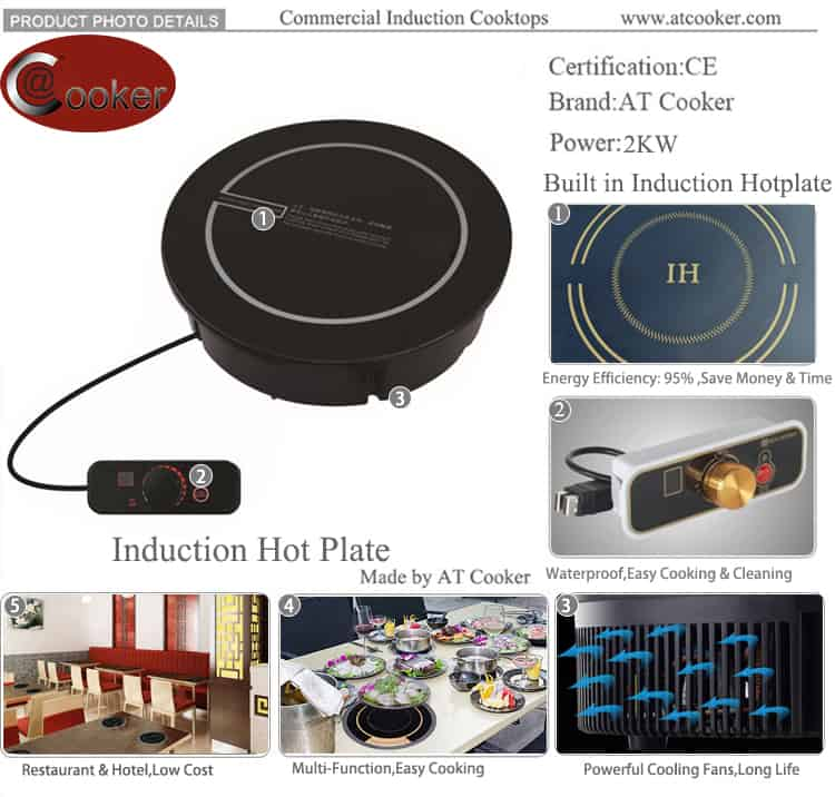 hot plate induction cooker single induction hotplate