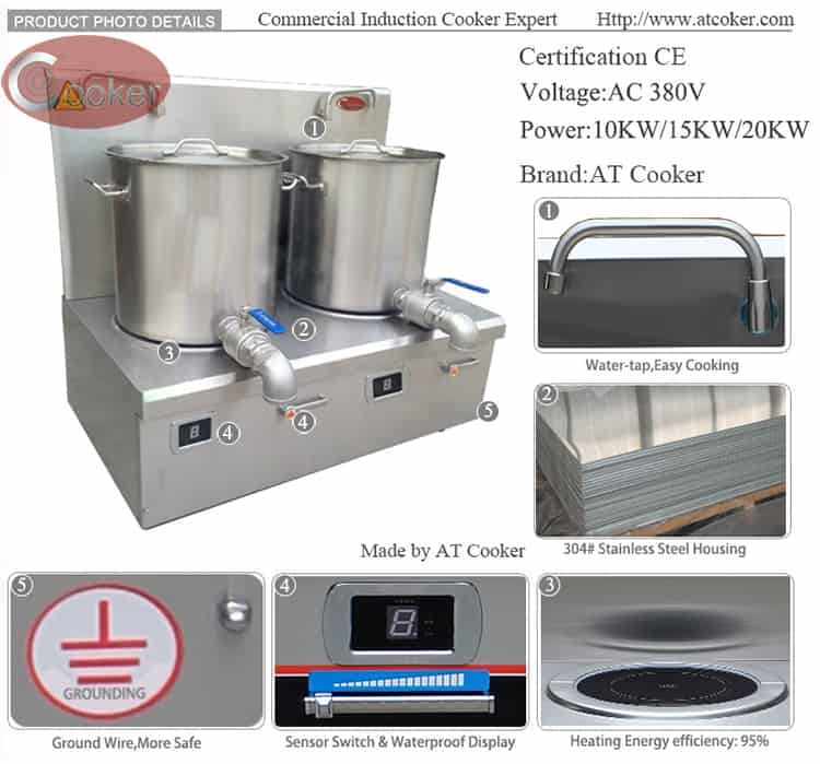 stock pot burner commercial electric stock pot range