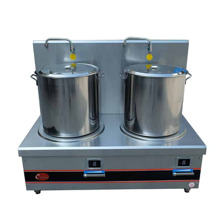 commercial stock pot range induction stock pot range